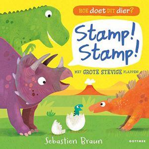 Kinderboek Hoe doet dit dier? Stamp Stamp (2+)