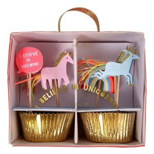 Cupcake set Unicorn Meri Meri