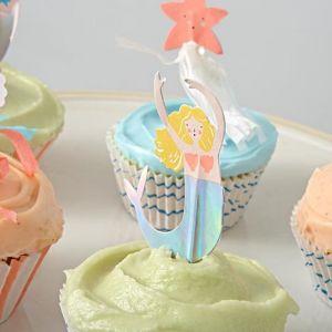 Cupcake set Let's be Mermaids Meri Meri