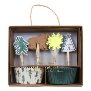 Cupcake Set Let's Explore Meri Meri