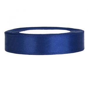 Satijnlint op rol 12mm (25m) Donkerblauw