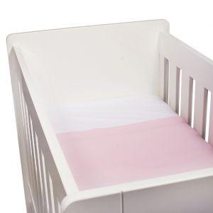 Ledikantlaken Wieber roze 110x140 KidsDepot