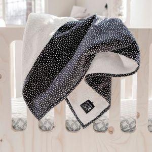 Babydeken Soft Teddy Cozy Dots Mies & Co