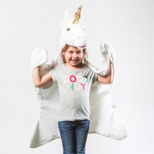 Verkleeddeken Unicorn Wild&Soft