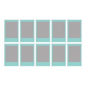 Instax Mini blauw frame film (10st)