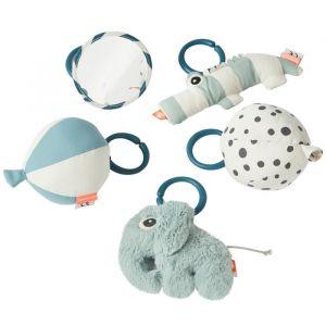Babygym met speelmat blauw Done By Deer