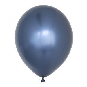Chroom ballonnen donkerblauw (10st) House of Gia