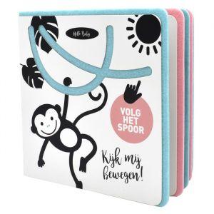 Kinderboek Hello baby. Kijk mij bewegen