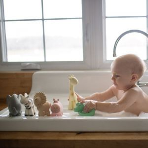 Tikiri bijt/badspeeltje Giraf
