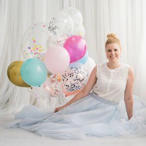 Ballonnen lichtroze (10st) Perfect Basics House of Gia