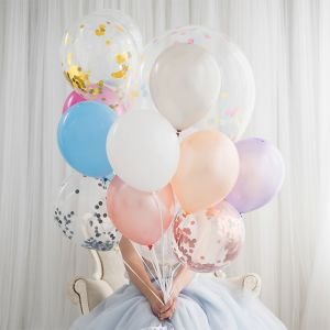 Ballonnen zilver (10st) Perfect Basics House of Gia
