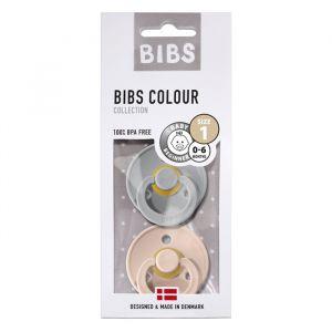 Bibs fopspenen set cloud/blush