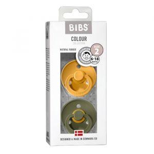 Bibs fopspenen set honeybee/olive