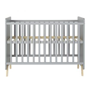 Ledikant Loft grijs 60x120cm Quax