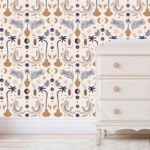 Behang Oriental Dream beige May & Fay