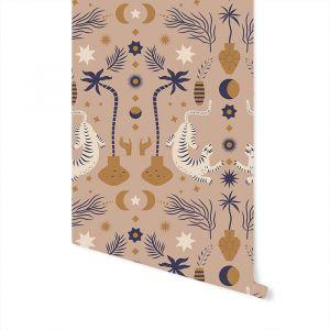 Behang Oriental Dream brown May & Fay