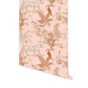 Behang Jungle blush May & Fay