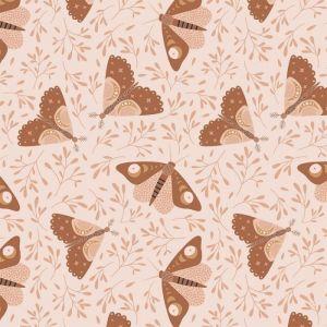 Behang Moon Moths May & Fay