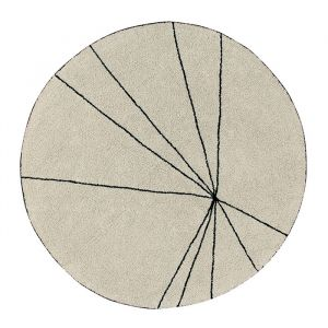 Vloerkleed Trace beige (160cm)