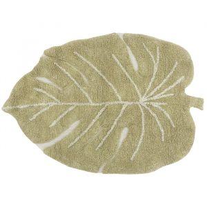 Vloerkleed Mini Monstera Olive (70x100cm) Lorena Canals