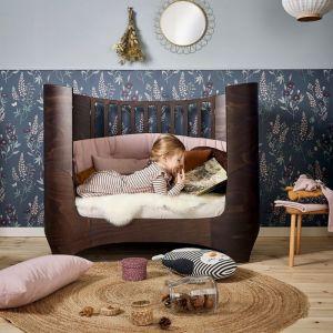 Uitbreidingsset Juniorbed walnoot bruin Leander Classic