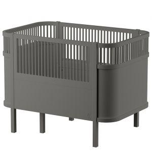 Sebra Kili meegroeibed baby en junior grijs