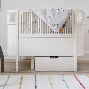 Sebra meegroeibed baby en junior Classic White