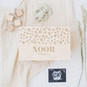 Memorybox baby panterprint