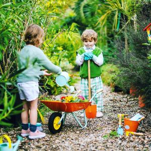 Bezem Happy Garden Janod