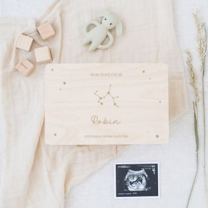Memorybox baby sterrenbeeld