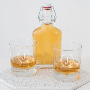 Whiskeyglas Infinity gepersonaliseerd