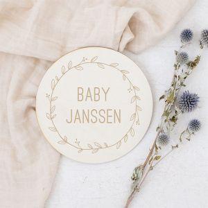Zwangerschapsaankondiging