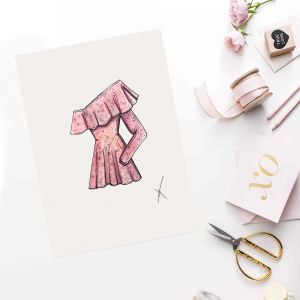 Persoonlijke illustratie favoriete kledingstuk door Sophie de Ruiter