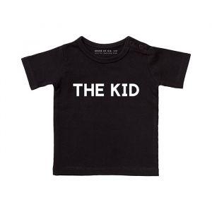 The Kid t-shirt zwart