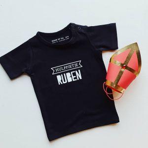Kids T-shirt Hulppietje met naam
