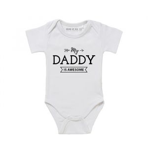 My daddy is awesome romper wit