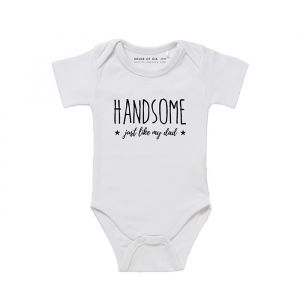 Handsome just like my dad romper