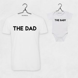 T-shirt set The Dad & The Baby