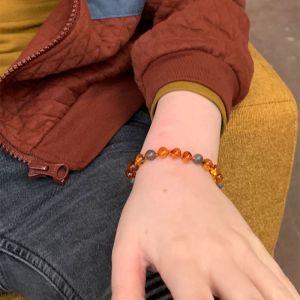 Amber Barnsteen armbandje kind Protective Mahina La