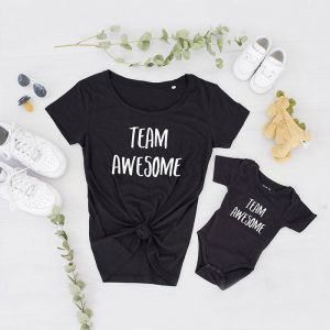 Baby Romper Team Awesome