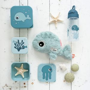Snackboxen Sea Friends blue (3st) Done by Deer