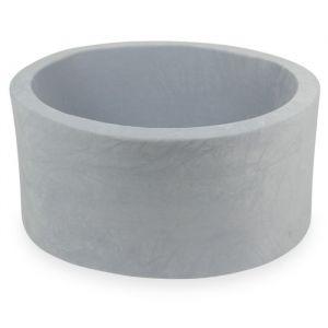 Ballenbadhoes 90x40 soft velvet light grey Moje