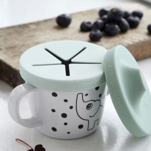 Snack- en tuitbeker Elphee blauw Done by Deer