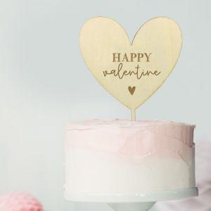 Taarttopper happy valentine