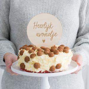 ✔ Originele Sinterklaas taarttopper ✔ Snelle levering ✔ Shop bijpassende decoratie op Partydeco.nl