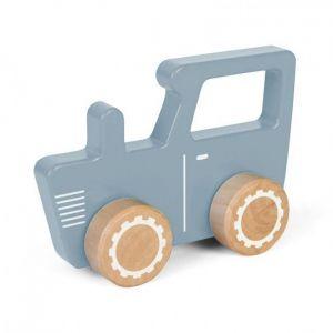 Houten tractor blauw Little Dutch