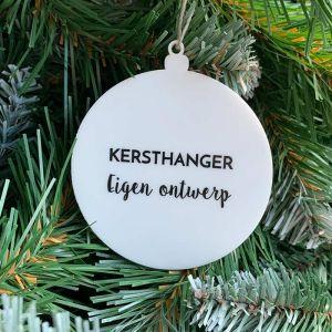 Kersthanger met eigen ontwerp