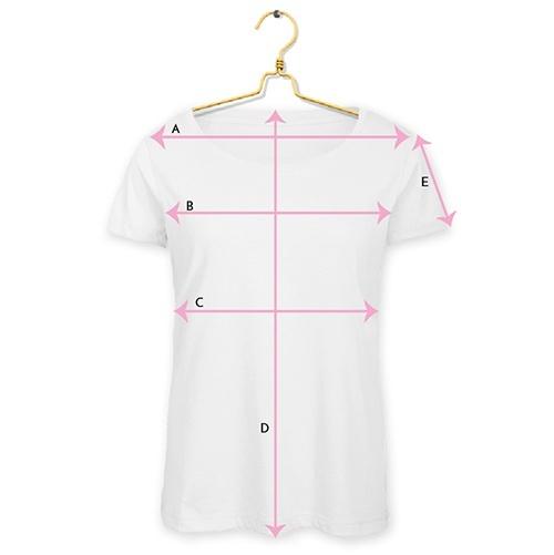 Maattabel textiel t-shirt Dames