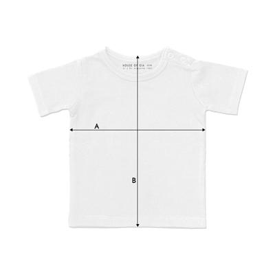 Maattabel t-shirt kids