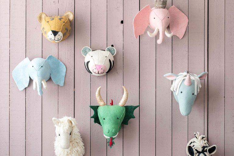 Dierenkoppen Voor Aan De Muur.Trend Dierenkoppen In De Kinderkamer Blog By Kidsdeco Nl